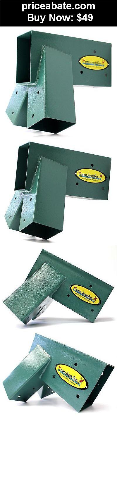 Toys: Eastern Jungle Gym Easy 1-2-3 Heavy Duty Steel A-Frame Swing Set Bracket Green - BUY IT NOW ONLY $49