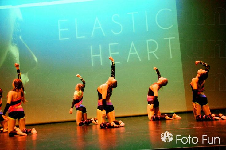 Dance show, DMA´s, Dynamix dance school 2015. Elastic Heart