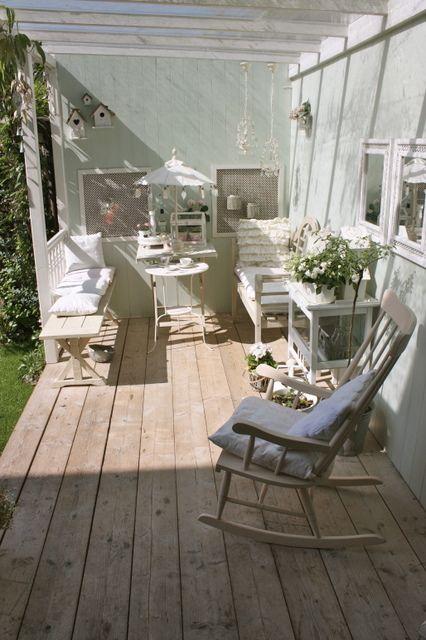 24 Homes: Porch Elements this summer / Veranda-elementen voor deze zomer
