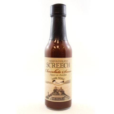 Chocolate Sauce - Screech Flavoured