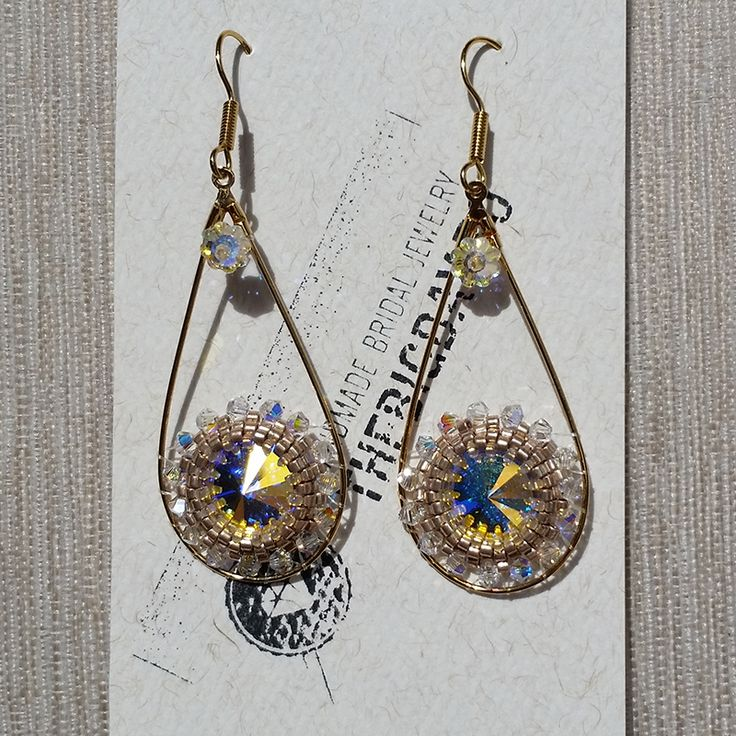 The Big Day | #1-0028 Cercei Swarovski Golden Eyes http://thebigday.ro/ #Swarovski #swarovskijewelry #jewelry #handmadejewelry #wedding #mireasa #bijuterii #cristale #bijuteriimireasa #nunta