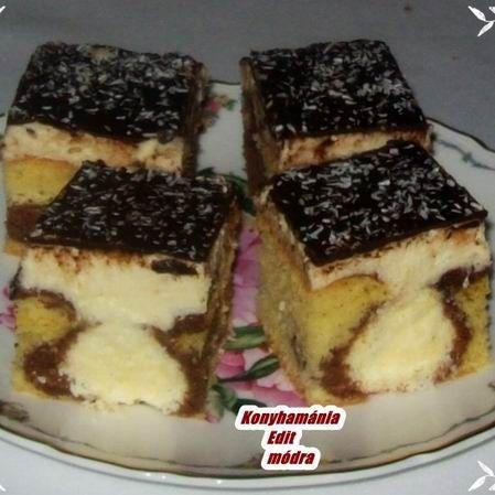 Kókuszgolyós szelet Recept képpel - Mindmegette.hu - Receptek