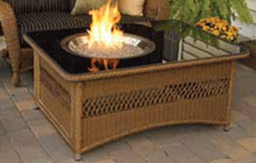 Natural Gas Fire Pit Insert