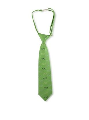 35% OFF Andy & Evan Boy's Glasses Tie (Green)