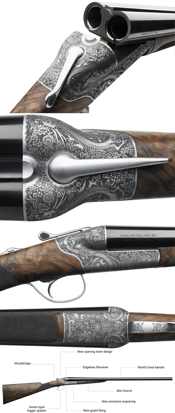 Beretta unveiled the 486 by Marc Newson, based on their 486 Parallelo, at a London event and the new side-by-side is nothing short of a masterpiece.