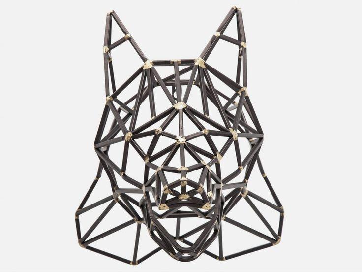 Dekoracja Śceinna Prisma Bear — Dekoracje ścienne — KARE® Design