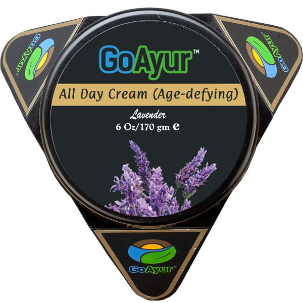 Fight signs of aging and  Get Youthful, Brighter, Flawless Skin with natural anti-aging cream from GoAyur.com  relaxing and balancing you with its flowery Lavender Fragrance.   #AntiAgingCream #AgeDefying #SkinTightening #FaceCream #Facecare #NaturalSkincare #NaturalBeautyProducts #SkinBrightening  #DrySkin #SentitiveSkin #ParabenFree #VeganCosmetics #CruetlyFree #AntiWrinkles
