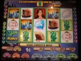 Oh Jade Monkey... you are so fun! First slot machine I ever played!