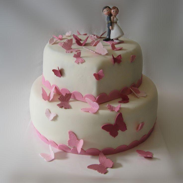 ... Hochzeitstorte weiß lila, Hochzeitstorte flieder und Lila hochzeit