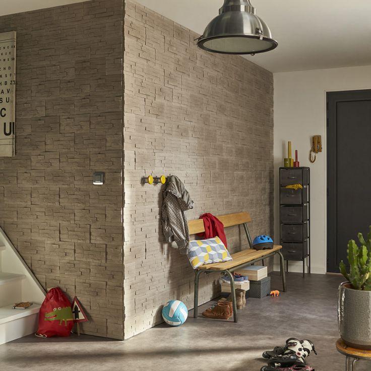 1000 images about entr e et couloir on pinterest - Couloir gris taupe ...