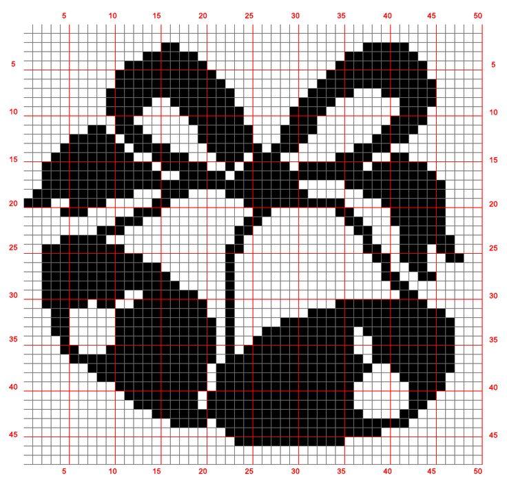 Weihnachtsglocken (50x48)