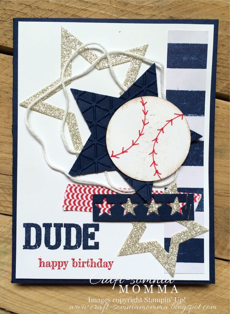 Craft-somnia Momma: Dude, Happy Birthday ~ Monday Montage 44