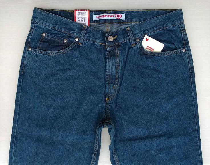 Jeans Carrera Art.700/1030 Denim Leggero N°5 Tasche e Zip Frontale