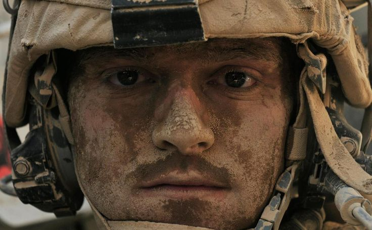 I've seen enough. Sgt Tim Martin, Photo by Staff Sgt. Brendan Mackie 2012