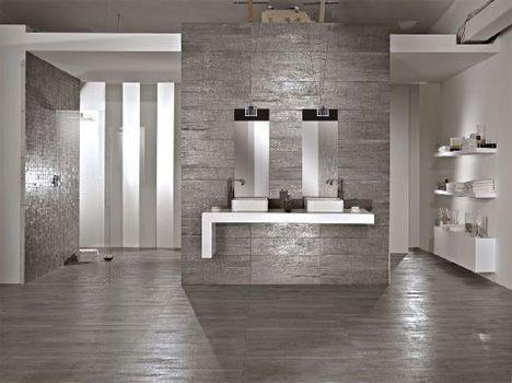 gray wood tile floors | ... wood hues to striking, shiny grey that looks  like a metal/wood hybrid | Seeing | Pinterest | Grey wood tile, Wood tile  floors ... - Gray Wood Tile Floors Wood Hues To Striking, Shiny Grey That