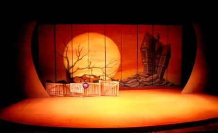 James and the Giant Peach. Pennsylvania Youth Theatre. Scenic design by Weber-Prianti.
