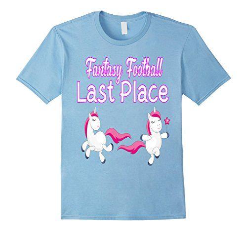 Mens Fantasy Football Last Place T-Shirt 2XL Baby Blue Fa...