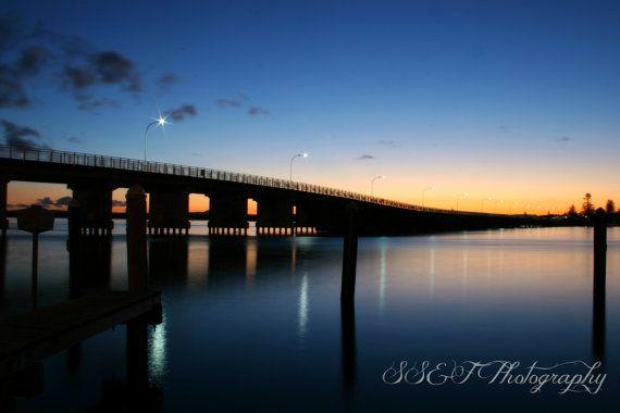 Fine Art Photography, Coastal Sunset Colour, Forster Tuncurry, Australia