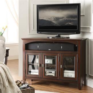 Canterbury Corner TV Console I Riverside Furniture  Corner Tv ConsoleLiving  Room  Best 25  Corner tv console ideas only on Pinterest   Corner tv  . Console Living Room. Home Design Ideas