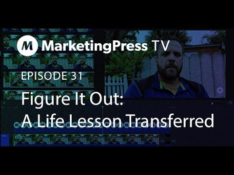 No matter what you are faced with it's your responsibility to figure it all out. Today on Marketing Press TV I tell a story about getting my car towed in NYC at the age of 22, and the best piece of advice I received to remedy the situation. http://marketingpress.com/figure-episode-31-marketing-press-tv/ #WordPress