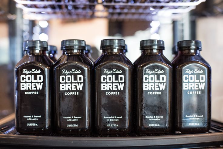 Crack open a bottle of our cold brew! It's just as good as our cold brew on tap - except portable.