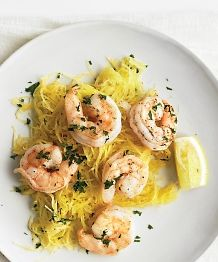 Roasted Shrimp with Spaghetti Squash - Paleo Recipe Site | Paleoaholic