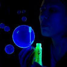 1) Liquide à bulle UV actif BLUE 30 ml