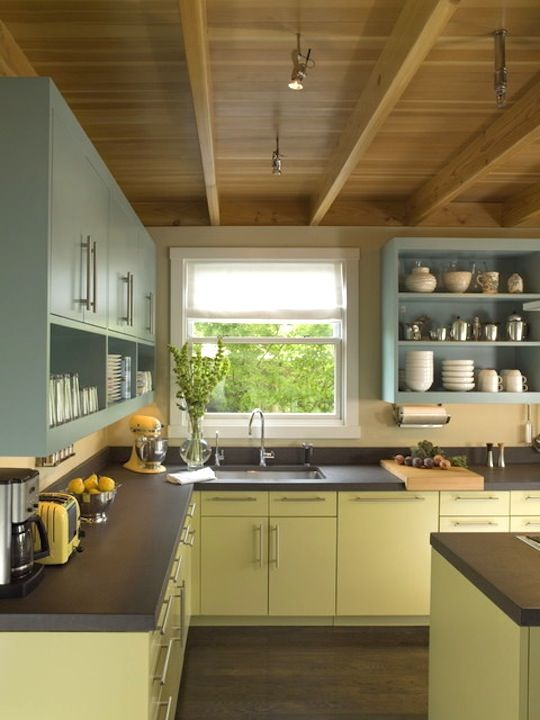 Painted Kitchen Cupboard Ideas best 25+ painting laminate kitchen cabinets ideas on pinterest