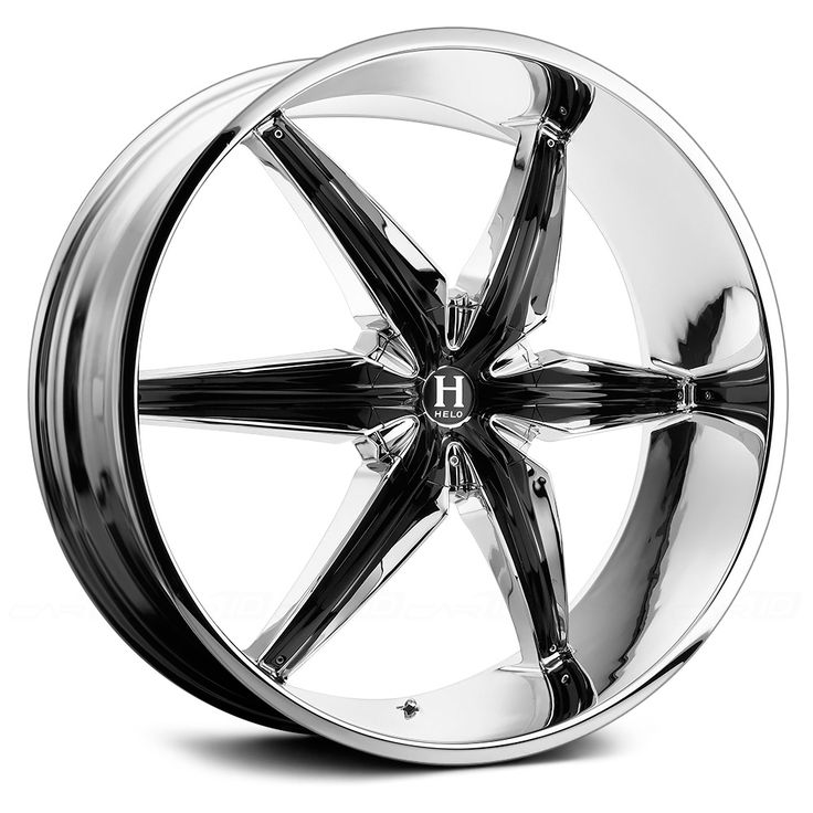 Helo Wheels HE866 Chrome Rim Find the Classic Rims of Your Dreams - www.allcarwheels.com