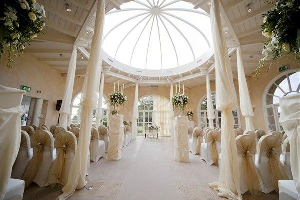 Best UK wedding venue interiors - Stapleford Country House Hotel, Leicestershire