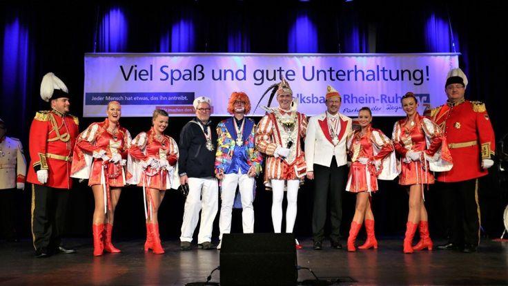 Duisburg: Volksbank Rhein-Ruhr feierte dritte Karnevalssitzung im Steinhof