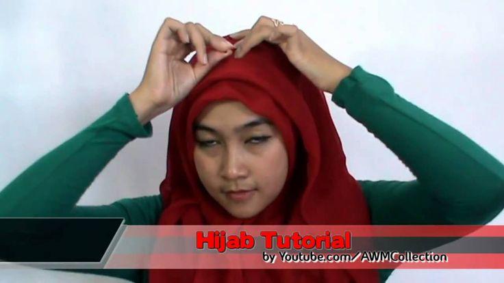 Ramadhan 2015 Tutorial Hijab Square Paris