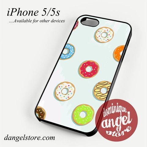 Donuts Phone Case for iPhone 4/4s/5/5c/5s/6/6s/6 Plus for $10.99