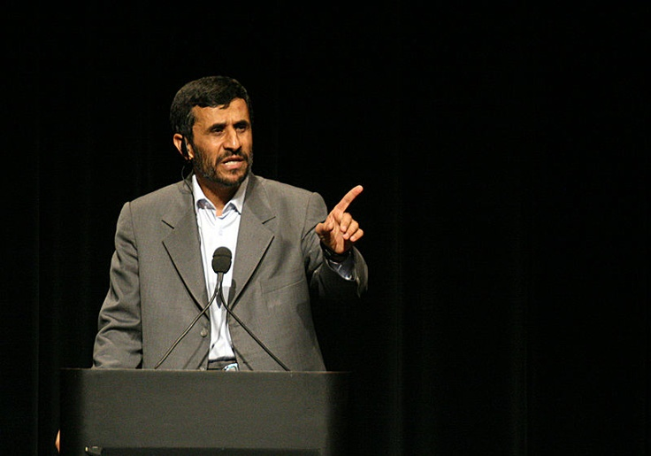Iranian PM - Hasten the day Doucher