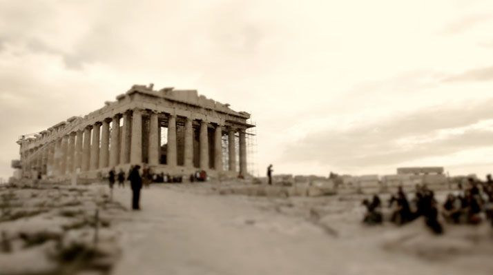 "The little great city!   There's a ""little greatness"" in all of us.. Αθήνα ♥"