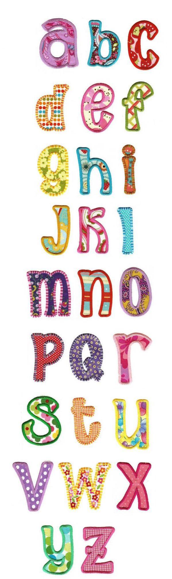 Sunshine Applique Alphabet design set is available for instant download atdesignsbyjuju.com
