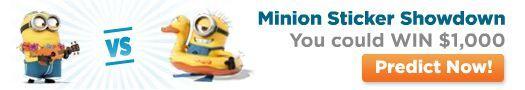 Minion Sticker Showdown - Who's Your Favorite? Vote Now!