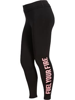 Womens Plus Old Navy Active Compression Leggings Oldnavy.com Size: 3x (runs a little small) Price: 32.94