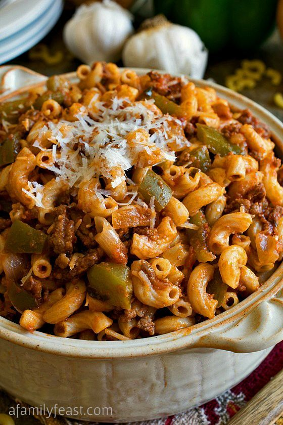 American Chop Suey Recipe Food Network