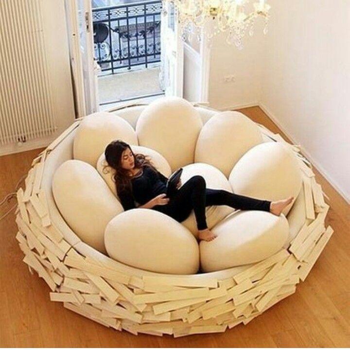 Гнездо для чтения и отдыха
