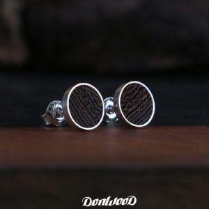 Wenge wood earring on DonWood.cz