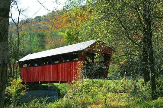 Metal Covered Bridges : Best images about covered bridges in wv on pinterest