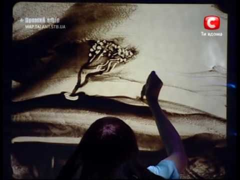 Ксения Симонова - Реквием из песка - YouTube An Animated Story told with Sand