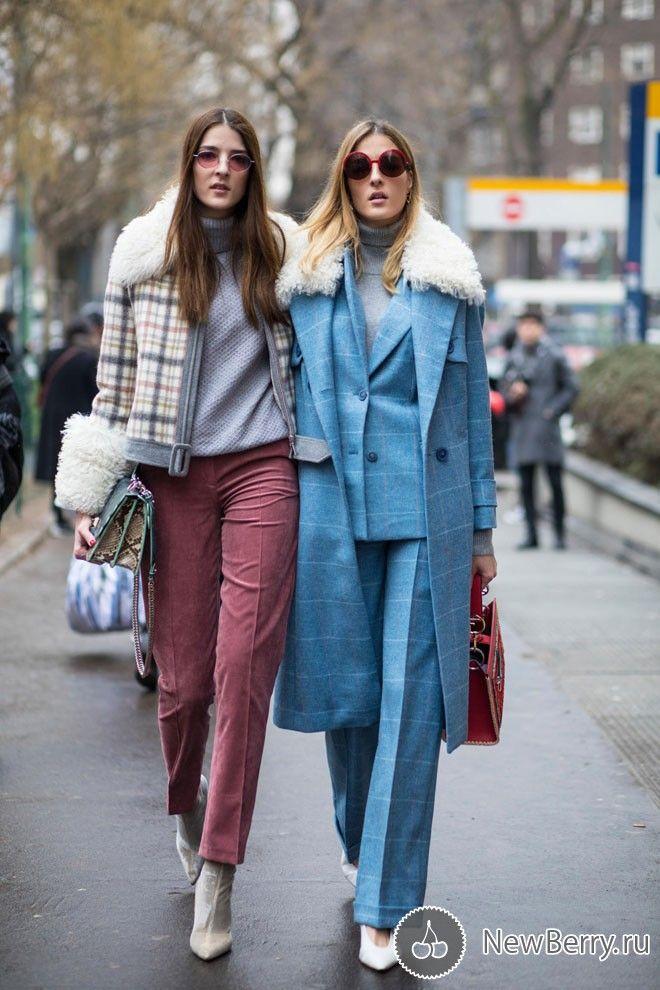 69236bf403f Street style на неделе моды в Милане осень-зима 2018-2019 ...
