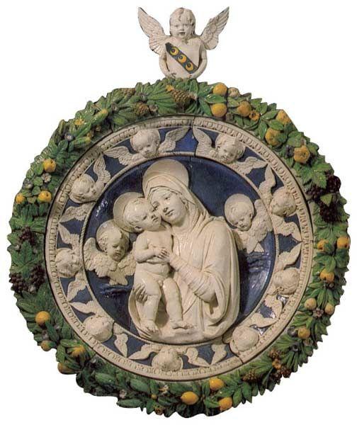 Andrea della Robbia - Madonna and Child | Museo Civico Sansepolcro