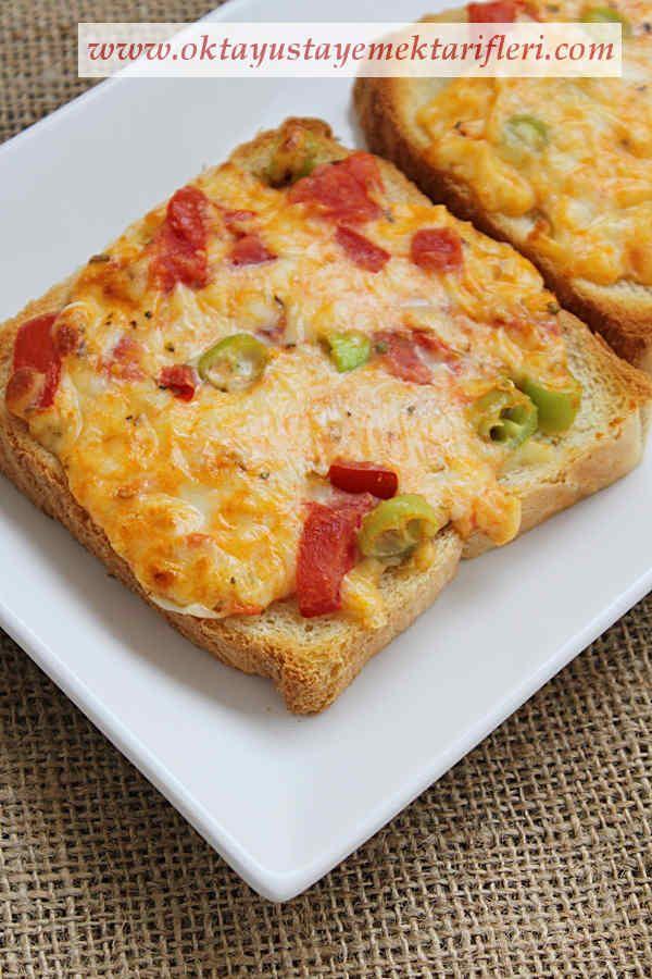 Kahvaltılık Peynirli Kızarmış Ekmek