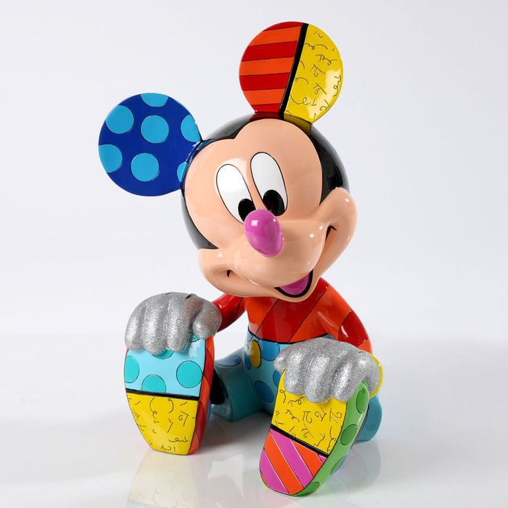 Enesco Romero Britto Disney Large Statue - Mickey Mouse - A10 ... www.a10collectibles.com