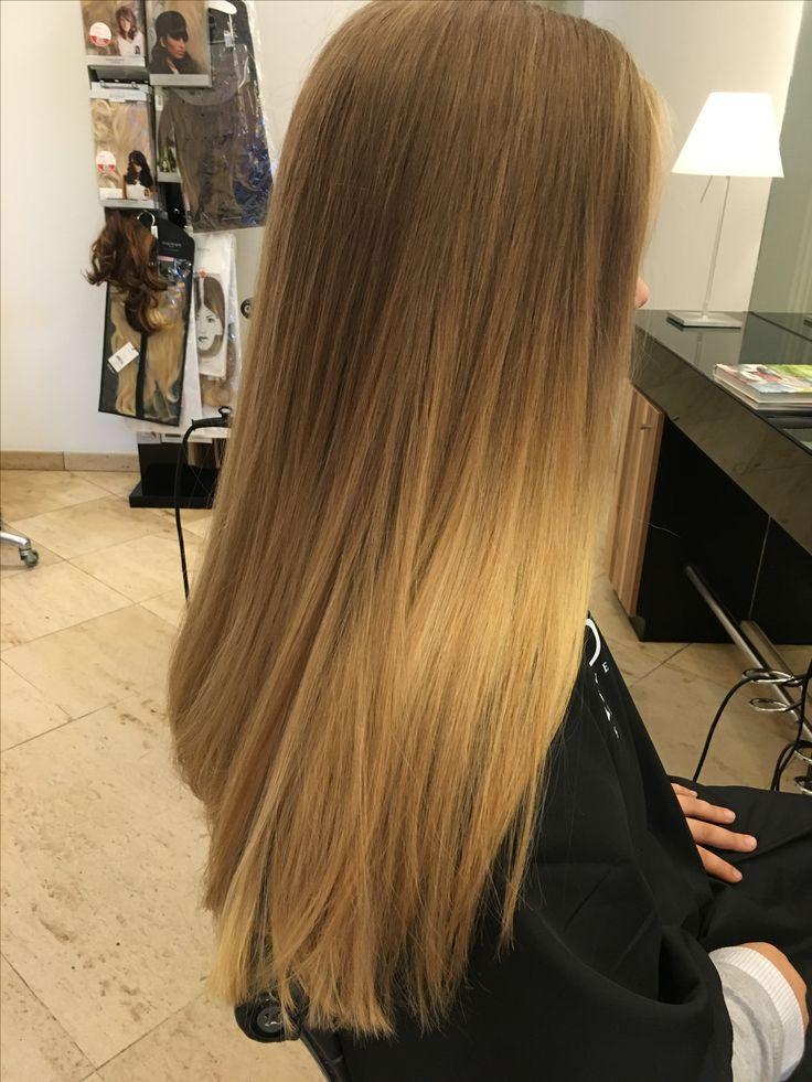 Lang Haar Bruin Haar Blond Haar Stijl Haar Stijl Haar