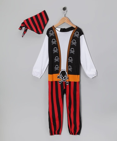 Take a look at this Red Pirate Prince Dress-Up Outfit - Toddler by Paper Magic on #zulily today!