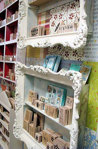 Marcos de resina decorados para resaltar un punto de venta. Una idea con estilo. Más                                                                                                                                                                                 Más